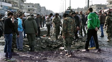 One killed in Syria's Homs bus blast - witness