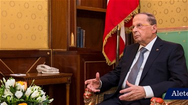 President Aoun hopes agreement over electoral law will be...