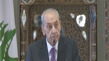 REPORT: Speaker Berri says redistribution of parliamentary seats is rejected