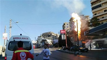 [PHOTOS] Huge fire breaks out in Tripoli