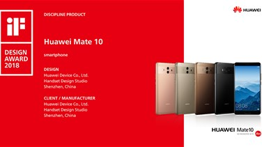 HUAWEI wins six awards at the 2018 iF International Industrial Design Forum