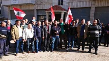 EDL contract workers stage sit-in in Baalbek