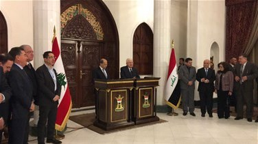 Popular Videos - REPORT: President Aoun arrives to Baghdad, Holds talks with Iraqi president