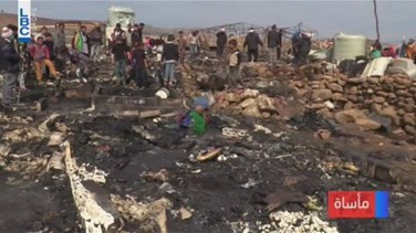 Popular Videos - REPORT: 12 tents catch fire at Syrian refugee camp in Wazzani