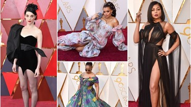 [PHOTOS] Worst-Dressed Stars At The Oscars 2018