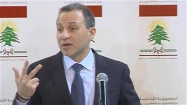 Bassil says Foreign Ministry at the disposal of Interior Ministry concerning expatriates' voting