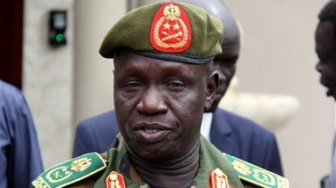 South Sudan says head of army has died
