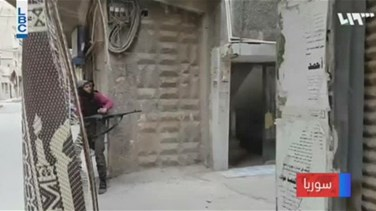 REPORT: Syrian Yarmouk camp hit by air strikes and shelling - social media video