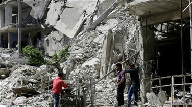 REPORT: Syrian rebels withdraw from enclave northeast of Damascus