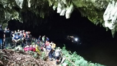 Related News - فقدان فريق كرة قدم بكامله داخل كهف...