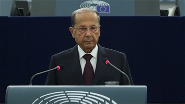 President Aoun says Lebanon seeks to ensure dignified return for...