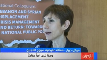 Lebanon News - UNHCR representative says 88% of refugees wish to return to Syria