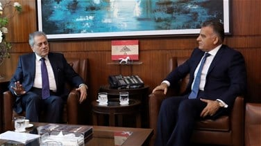 Maj. Gen. Ibrahim meets with Syrian ambassador, discussed Syrian...