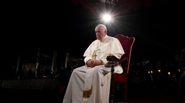 Related News - On Good Friday, pope hears harrowing stories of human trafficking