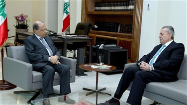 President Aoun discusses issue of refugees with Syrian ambassador