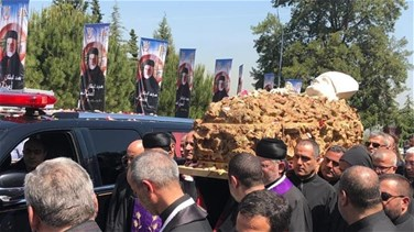 Coffin of Patriarch Sfeir settles in Bkerke as Lebanon mourns