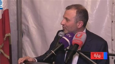 Refugee crisis, demarcation of borders focus of Bassil tour in...