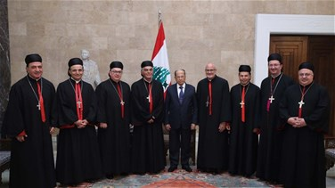 President Aoun: Lebanon has overcome a very difficult phase,...