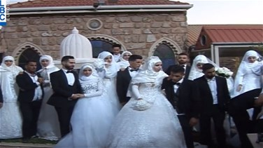 Mass wedding in Bekaa under the auspices of Sayyed Nasrallah