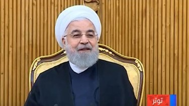 "Rouhani says Iran resists sanctions, drives US ""desperate"""