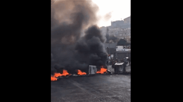 Protests sweep Lebanon for a second day roads blocked across...