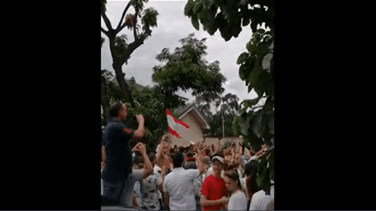 In Ghana, expats stand in solidarity with Lebanon (Video)