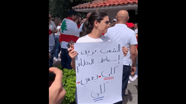 Lebanese expats in Mexico stand in solidarity with Lebanon's revolution (Video)