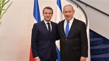 Macron, Netanyahu discuss Lebanon