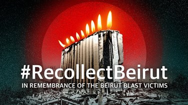 40 days on, Recollect Beirut honors Beirut blast victims