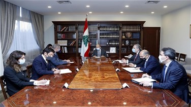 Related News - President meets UN Secretary-General in Lebanon, tackles with him stages of Resolution 1701 implementation