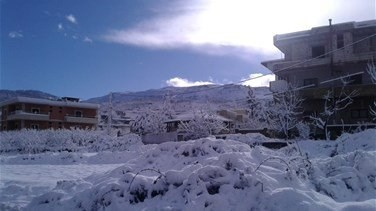Snow blankets Lebanon as Storm Joyce hits-[PHOTOS+VIDEOS]