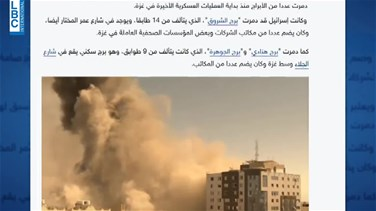 Popular Videos - How Israel destroyed Gaza tower housing media offices-[REPORT]