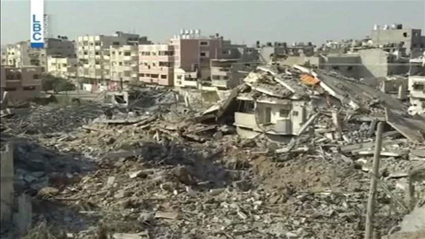 LBCI  التهدئة مستمرة في غزة ومحصلة الشهداء بلغت 1875 فلسطينيا