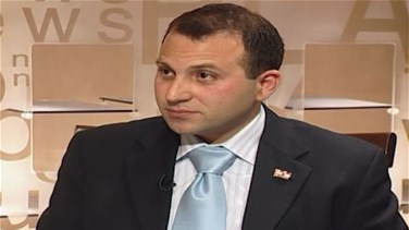 First Interview with Minister Gebran Bassil