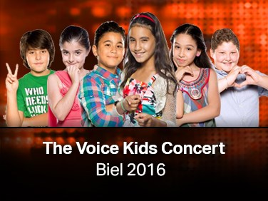 The Voice Kids Concert - Biel 2016