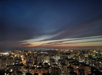Media-Tripoli Lebanon (View From Abi Samra)